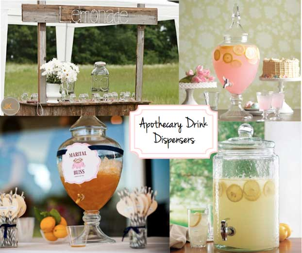 Apothecary-Drink-Dispensers