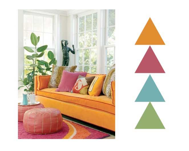 Tropical Tango Colour Scheming