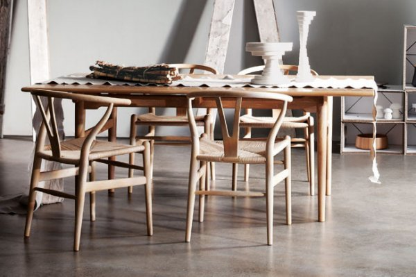 Cult wishbone chair special offer emma blomfield for Wishbone chair table