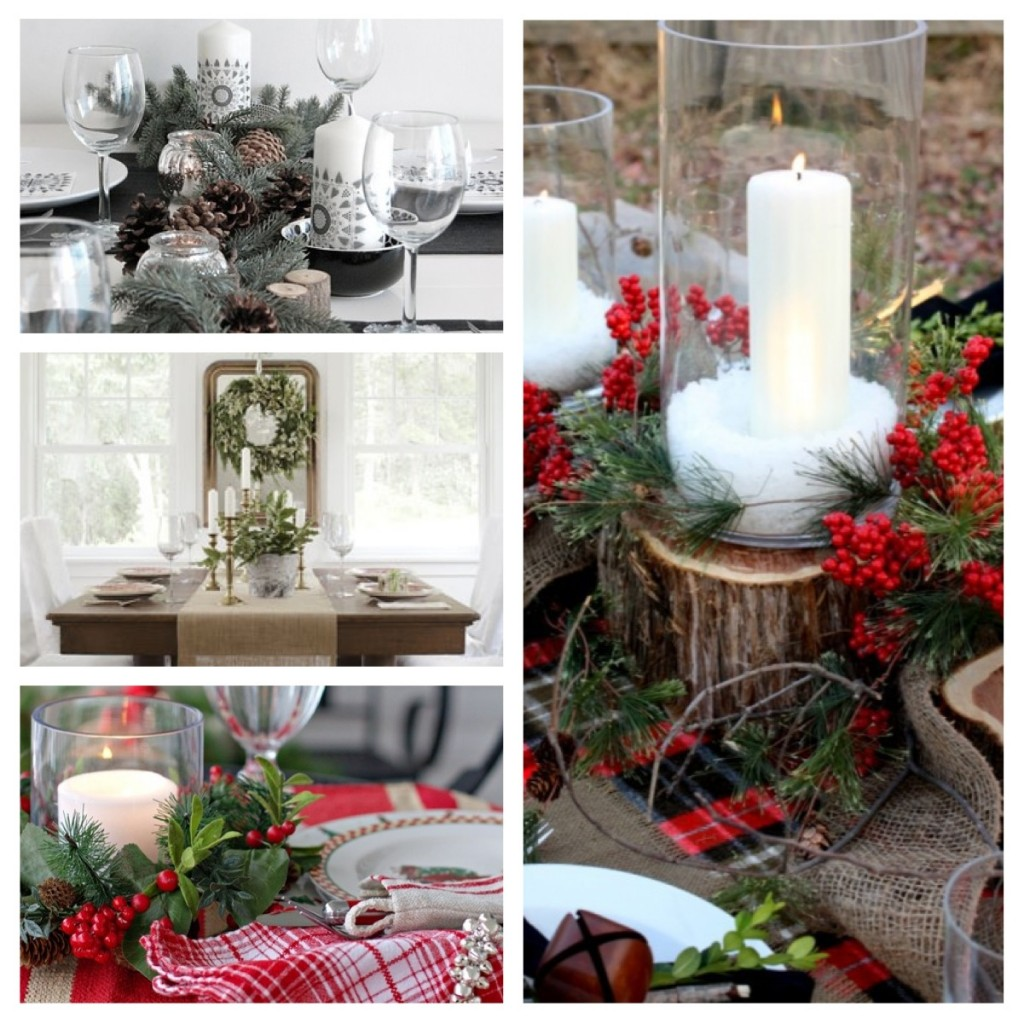 Christmas table decor inspiration emma blomfield for Pinterest home decor xmas