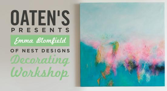 Oaten's Workshops – April