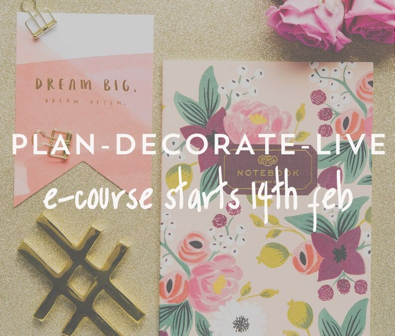 The Decorating School eCourse Kicks off for Feb 2016