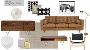 Tribal eDecorating Mood Board by Emma Blomfield