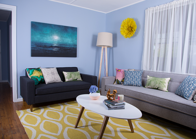 Australia's Ugliest Living room makeover