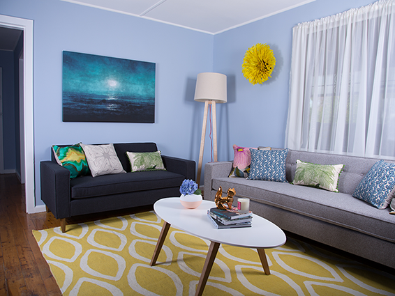 Australia's Ugliest Living room makeover