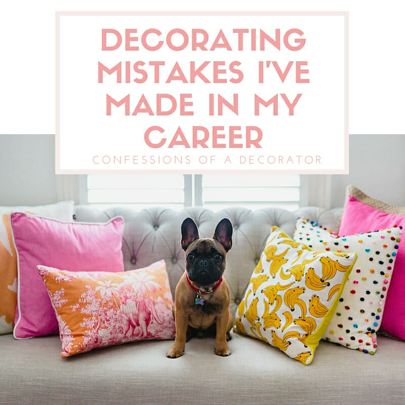 Decorating mistakes i 39 ve made emma blomfield interior - Common mistakes in interior decor ...