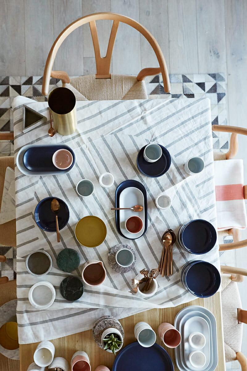 United Interiors Emma Blomfield Styling Dining Table