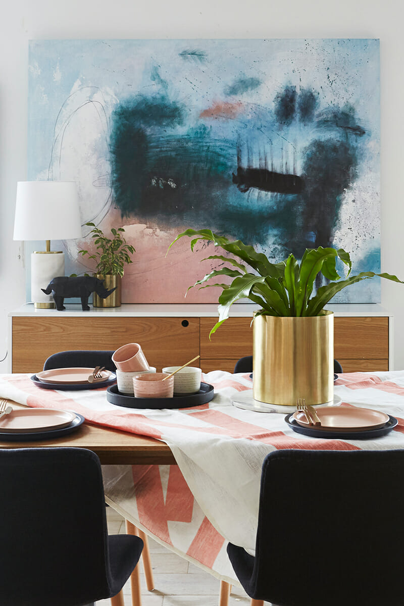 United Interiors Emma Blomfield Styling Dining Room
