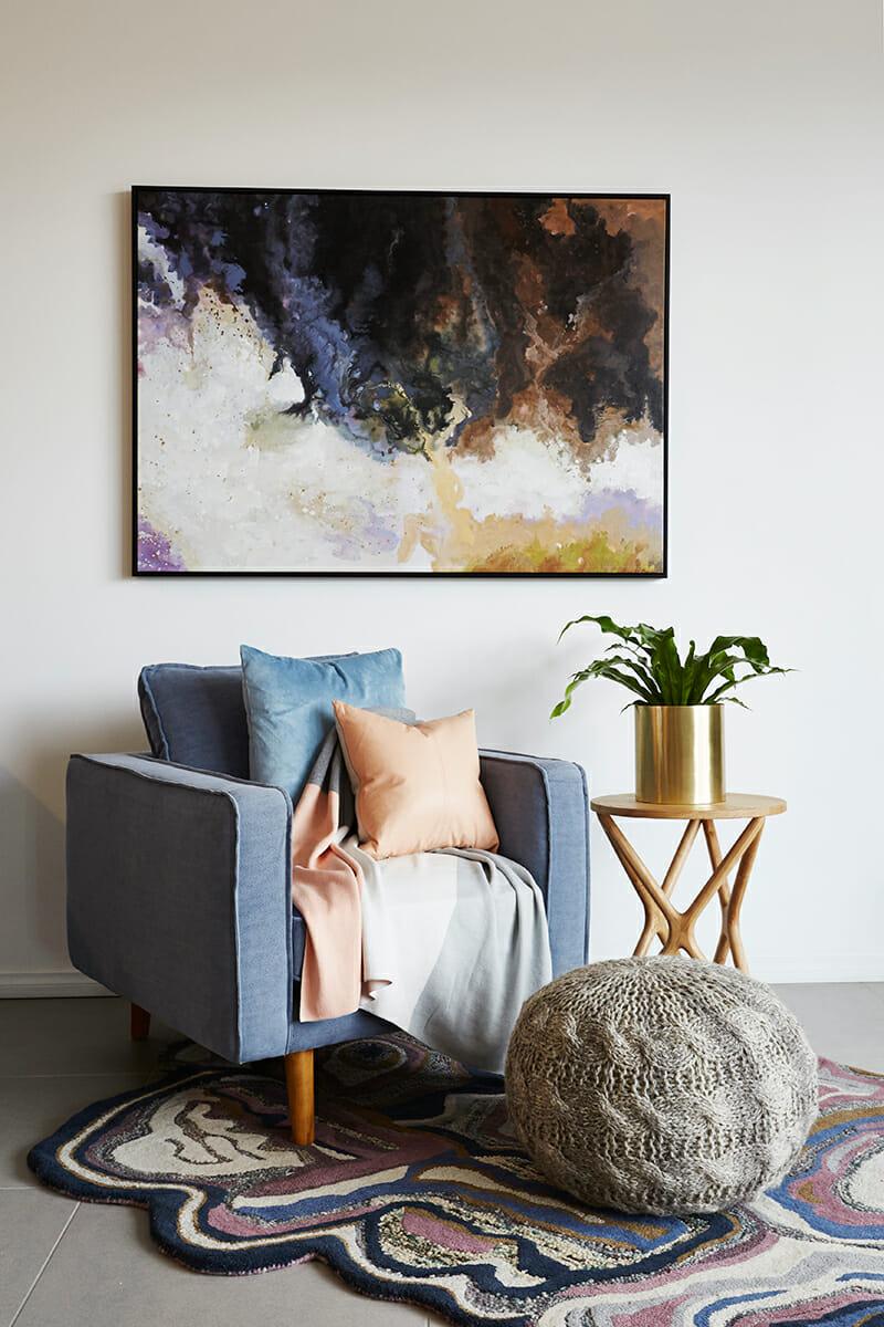 United Interiors Emma Blomfield Styling Lounge Room Nook