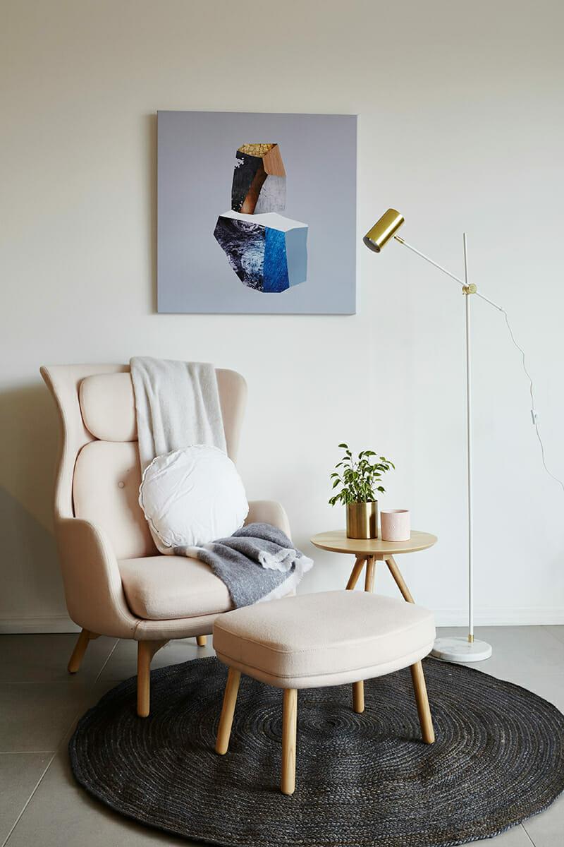 United Interiors Emma Blomfield Styling Pink Armchair