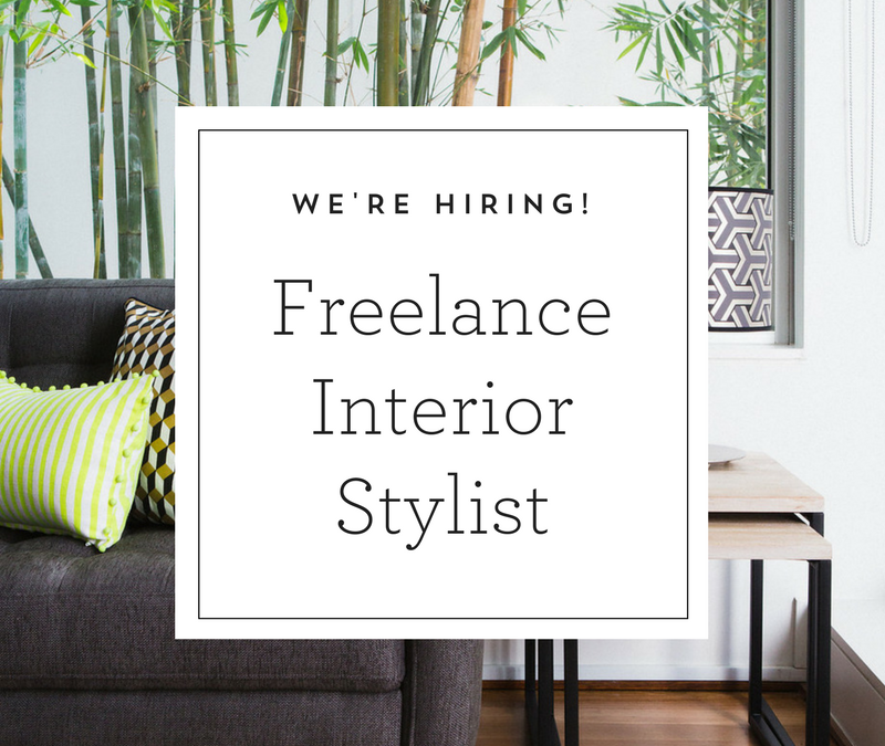 Freelance Interior Stylist Position Open